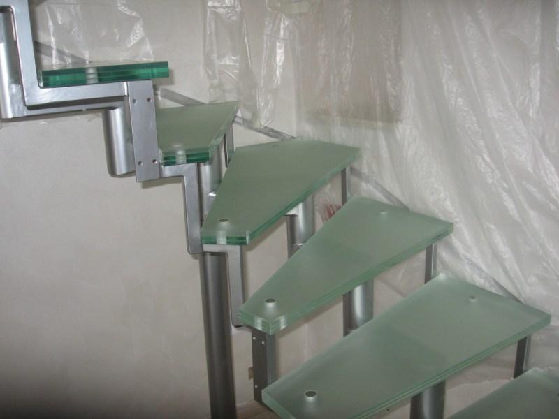 scale con gradini in vetro by Giorgio Ferrari Vetro_46
