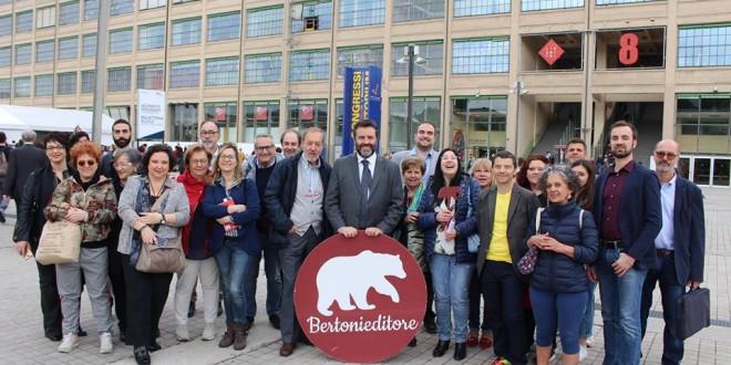 2018 Salone Internazionale del Libro di Torino: Bertoni e autori