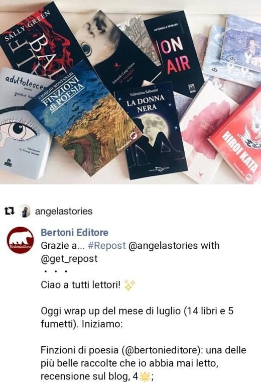 Angelastories e Finzioni di Poesia di Giorgio Montanari
