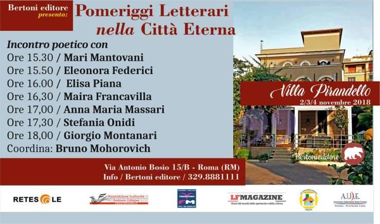 Finzioni di Poesia presentazione Roma