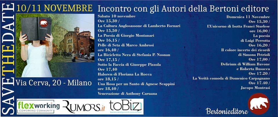 Finzioni di Poesia di Giorgio Montanari a Milano