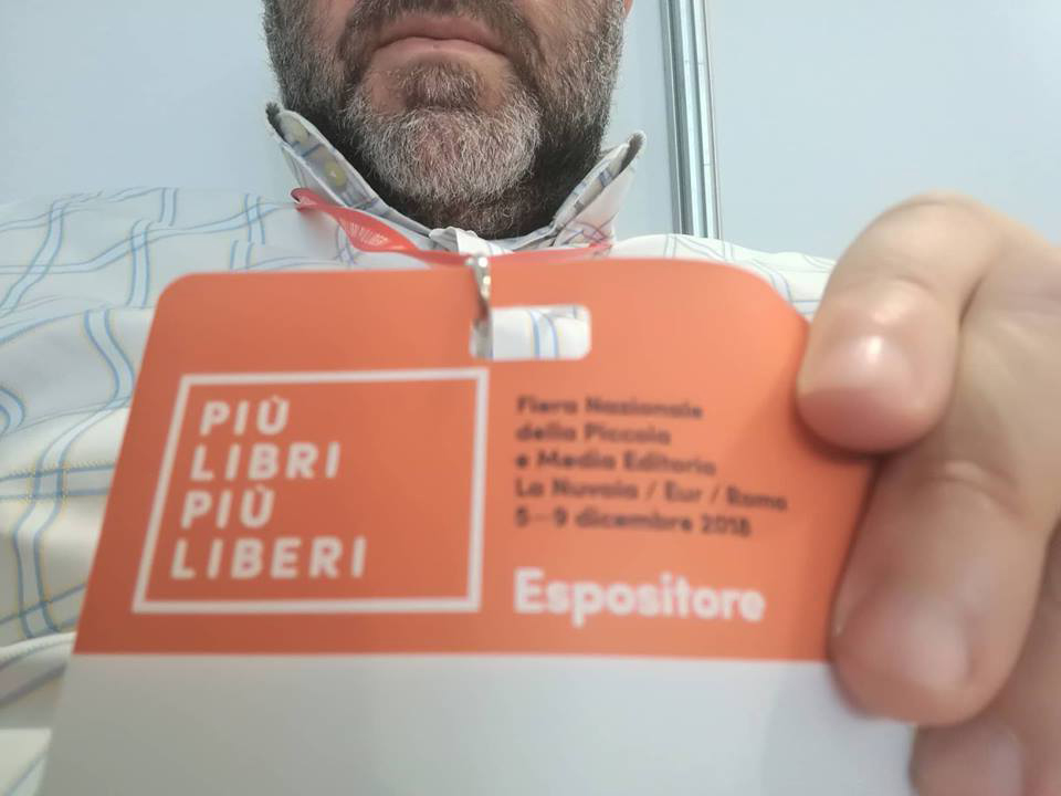 Più Libri Più Liberi, Roma, con Finzioni di Poesia, grazie a Bertoni Editore (stand P10)
