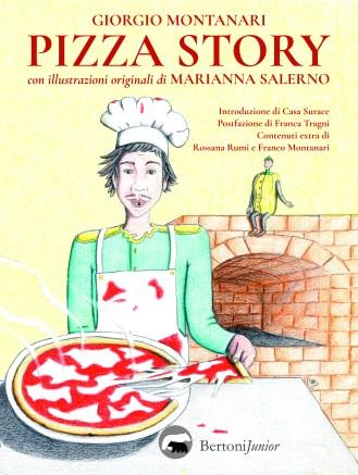 Pizza Story - Salerno Marianna, Montanari Giorgio, Bertoni editore