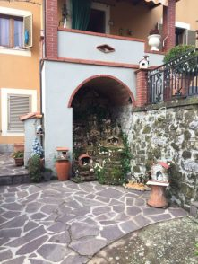 Il presepe di Grazia Piacenza ad Albiano