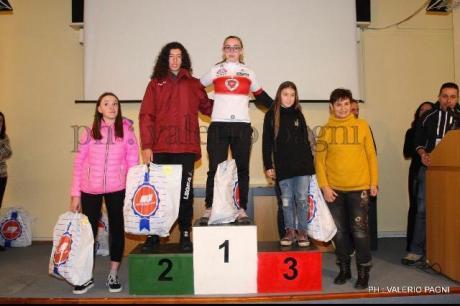 Giorgia capionessa toscana ciclocross allieva