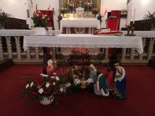 Presepe nella chiesa di Renaio