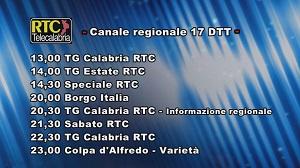 Oggi su RTC Telecalabria – Programmazione del 22 giugno 2019