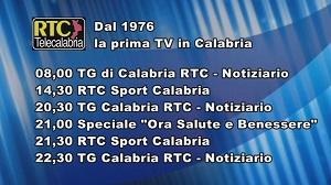 Oggi su RTC Telecalabria – Programmazione di martedì 19 novembre 2019