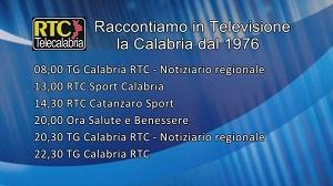 Oggi su RTC – Programmazione di mercoledì 19 febbraio 2020