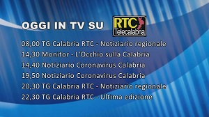 Oggi su RTC – Programmazione del 2 aprile 2020
