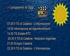 In Radio, TV e Web su RTC – Programmi di Lunedì 2 Agosto