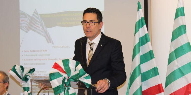 Il segretario generale della Fp Cisl Ragusa Siracusa Daniele Passanisi ai  lavori del congresso nazionale di Milano – Giornale Ibleo