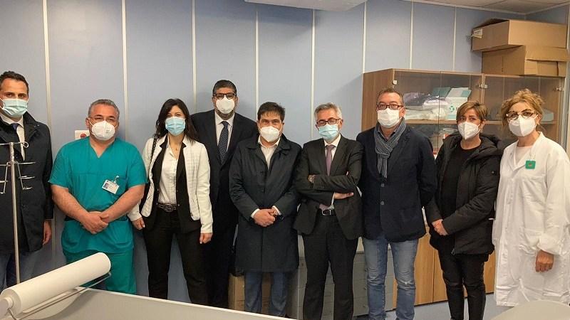 Ospedale Palestrina, inaugurata nuova TAC nel servizio di Radiologia
