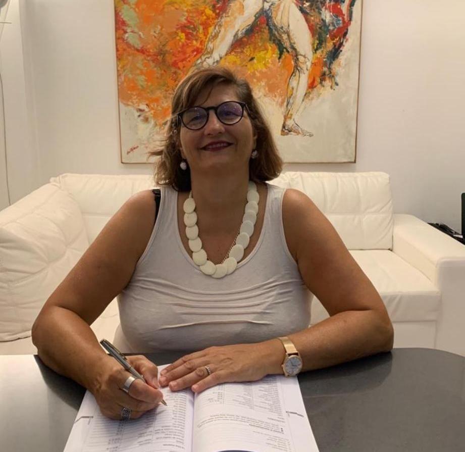 Marino, presentazione di Barbara Cerro, Candidato Consigliere Lista M5S