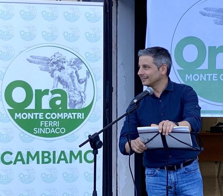 """Monte Compatri, Francesco Ferri: """"andiamo e cambiamo questo paese"""""""