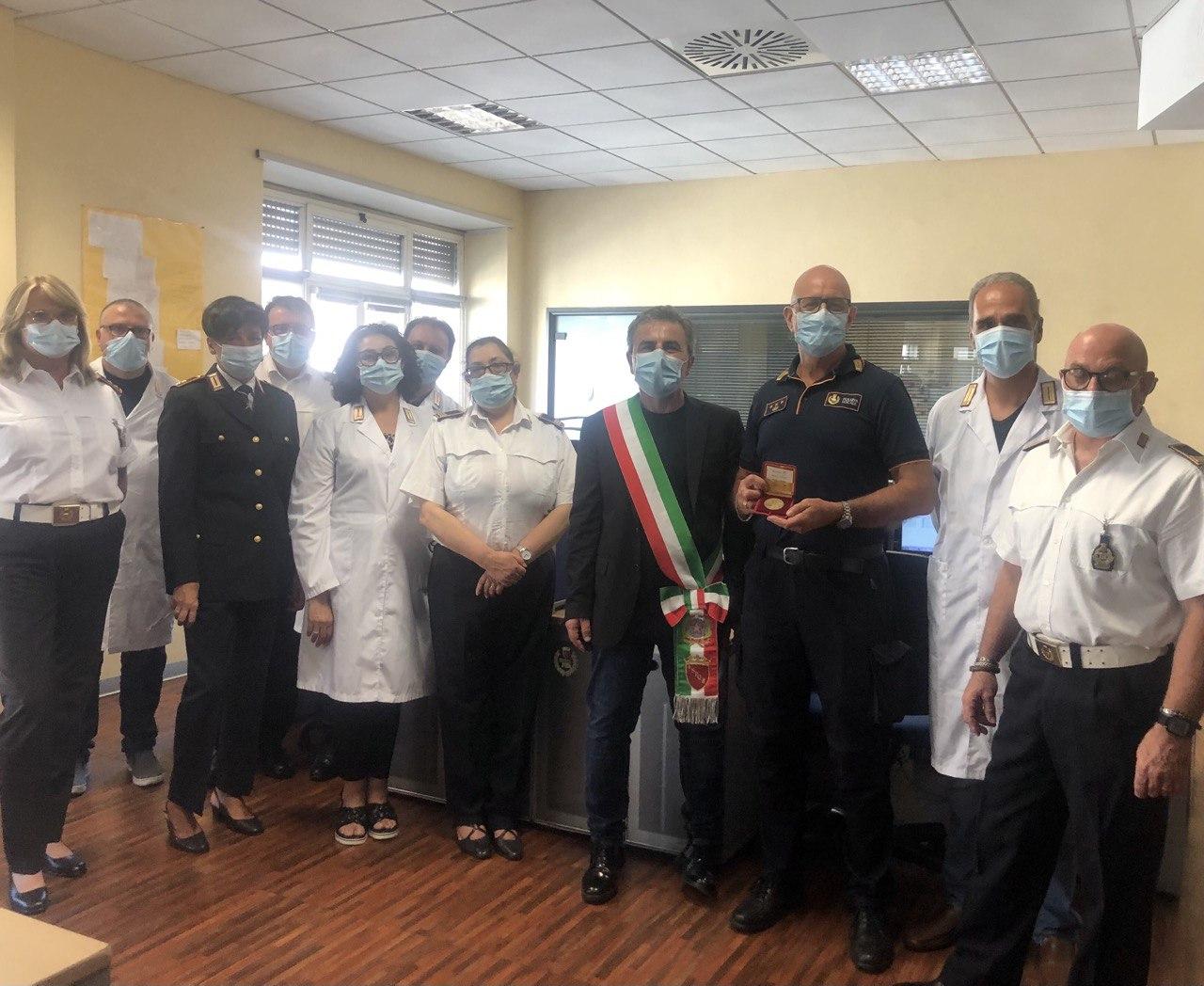 Roma, Vice Sindaco in visita al Comando Generale in occasione della festività del Ferragosto
