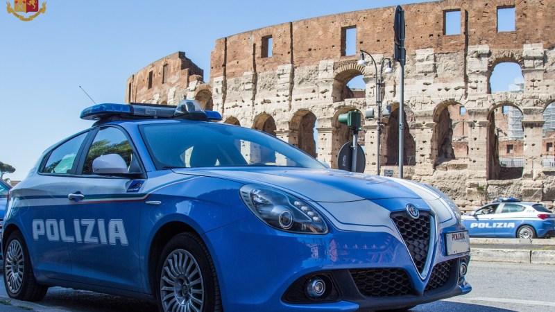 Roma, oltre 180 gli arresti effettuati dalla Polizia di Stato dall'inizio di settembre