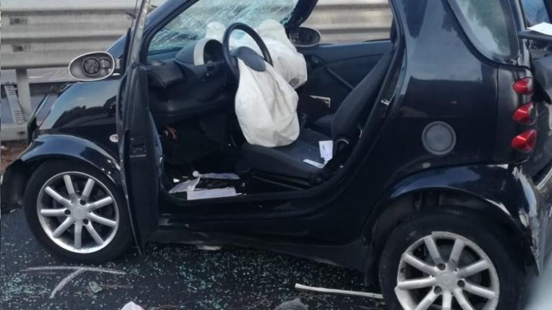 Frattocchie, grave incidente sulla via Appia Nuova