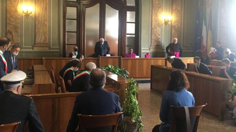 Albano, le parole del Vescovo Vincenzo Viva durante la celebrazione del suo insediamento