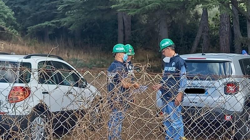 Roncigliano, conclusi i rilievi di campioni da parte dei carabinieri del noe e dell'arpa: attesa per i risultati delle analisi