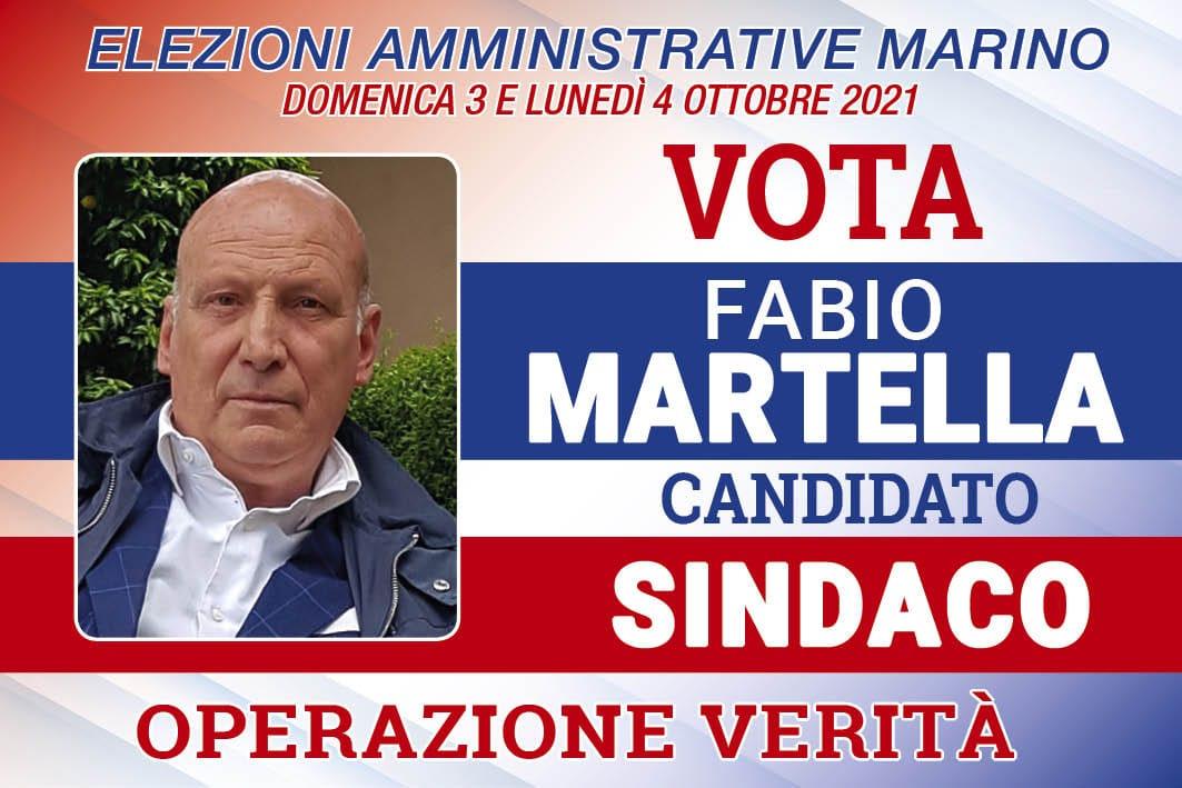 Marino, date e luoghi degli incontri con il candidato sindaco Fabio Martella