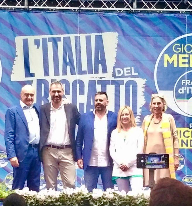 """Elezioni Comunali: Giorgia Meloni """"benedice"""" Fabrizio De Santis candidato sindaco di Marino"""