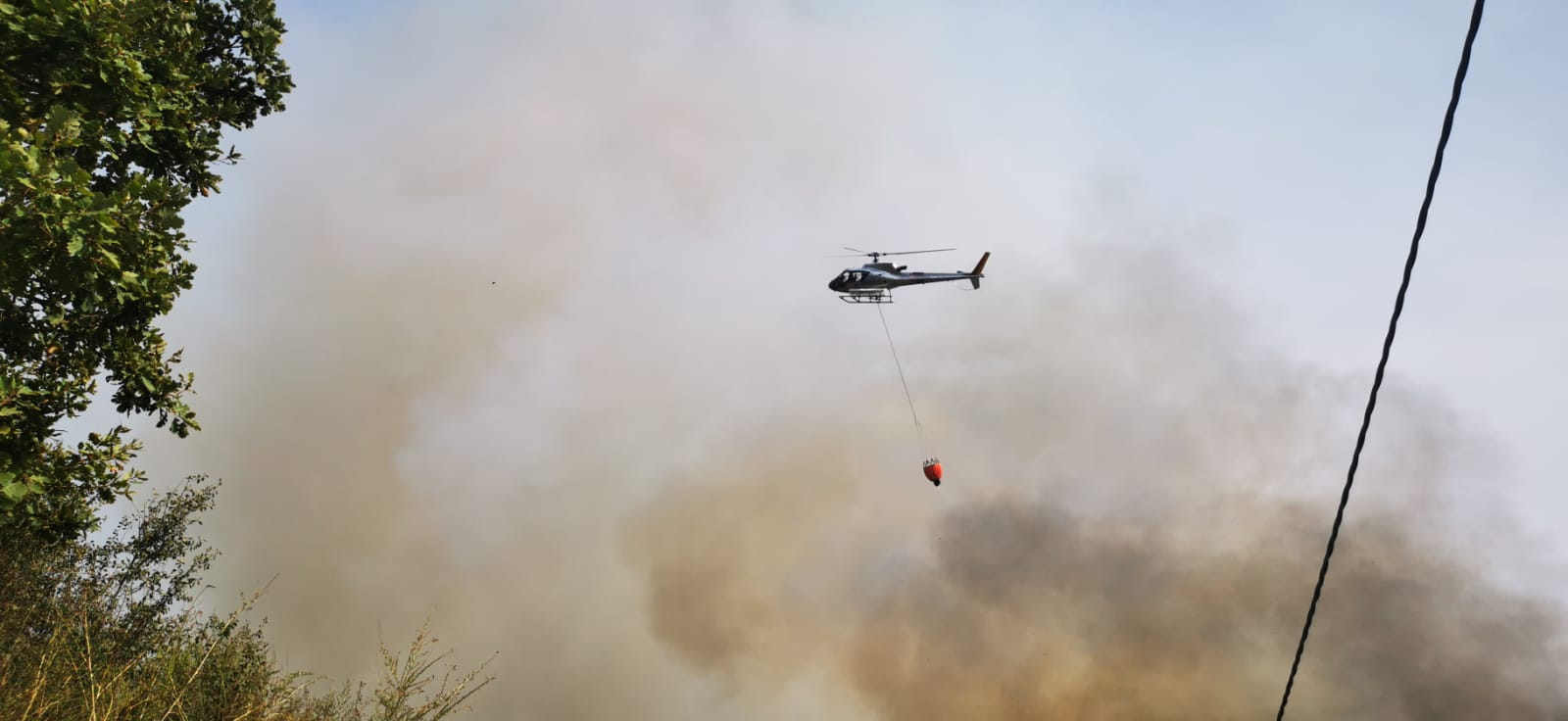 Rocca Priora, indagini dei Carabinieri Forestali sul Monte Ceraso per individuare piromane che ieri ha causato un incendio