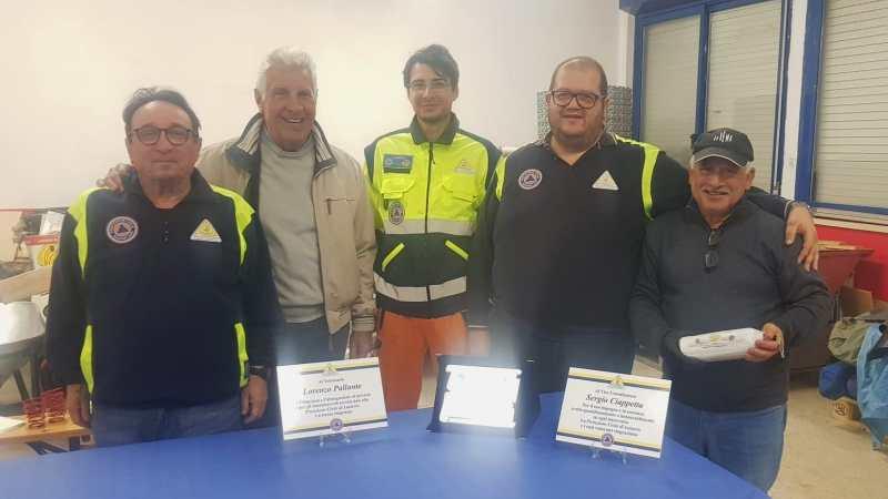 Lanuvio, il gruppo della protezione civile promosso a classe A dalla Regione