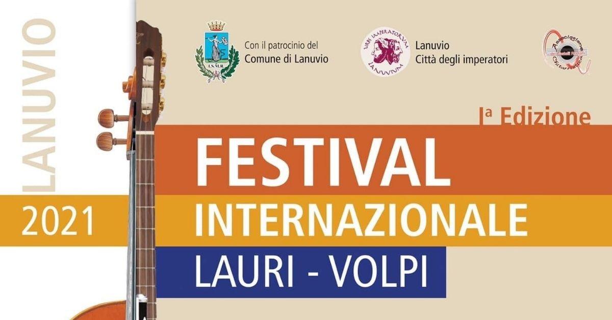 Lanuvio, Festival internazionale di musica classica dedicato al tenore lanuvino Giacomo Lauri-Volpi.
