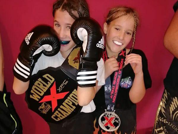 Rocca Priora, le sorelle Vittoria e Luna Milani trionfano nella boxe