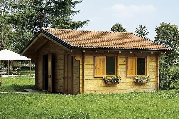 Case in legno prefabbricate laspetto esteriore