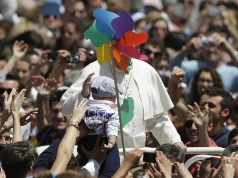 L'esorcismo (presunto) di Papa Francesco
