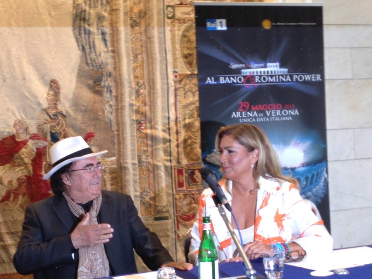 Signore e Signori Al Bano e Romina Power di nuovo insieme allArena di Verona  Giornalettismo
