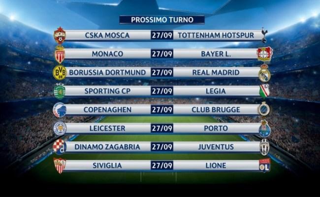 Champions League In Chiaro Napoli Benfica In Tv Canale