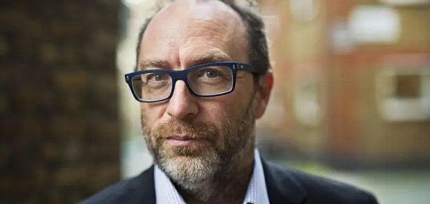 Wikipedia founder Jimmy Wales about fake news