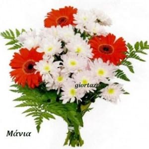 Ευχές για:Μαρία, Μαργέτα, Μαριέττα, Μαργετίνα, Μάρω, Μαριώ, Μαριωρή, Μαρίκα, Μαριγώ, Μαριγούλα, Μαρούλα, Μαρίτσα, Μανιώ, Μαίρη, Μαρινίκη, Μιρέλλα, Μυρέλλα, Μάνια, Μάρα, Μαράκι, …gioerazo.gr 21 Νοεμβρίου- 15 Αυγούστου
