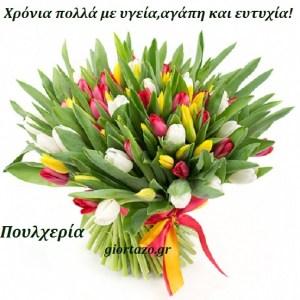 17 Φεβρουαρίου .Σήμερα γιορτάζουν οι:Πουλχερία, Πουλχερίνα, Πουλχερίτσα, Πουλχέρω, Πουλχέρη.giortazo.gr