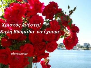 Read more about the article Χριστός Ανέστη! Καλή βδομάδα!