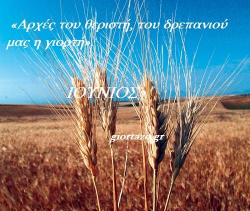 Παροιμίες του Καλοκαιριού