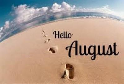 Καλώς Ήρθες Αύγουστε Hello August