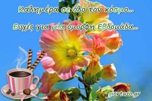 Read more about the article Καλημέρα σας! 💞🇬🇷 Καλή εβδομάδα σε όλους!