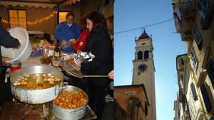 Κέρκυρα: Παραμονή της γιορτής του Αγίου Σπυρίδωνα, μοσχομυρίζουν το βράδυ «οι τηγανίτες τ΄ Αγιού»