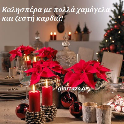 Read more about the article Καλησπέρα με πολλά χαμόγελα και ζεστή καρδιά 😊💙🎄