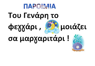 Read more about the article Ιανουάριος-Παροιμίες