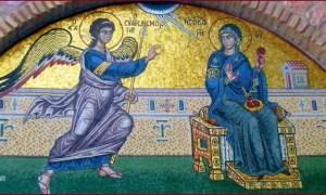 Read more about the article Η ερμηνεία της εικόνας του Ευαγγελισμού της Θεοτόκου