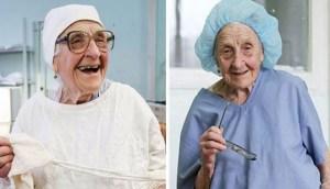 Η 90χρονη χειρουργός που… αρνείται να αφήσει το νυστέρι και δεν έχει την συνταξιοδότηση στα άμεσα σχέδια της