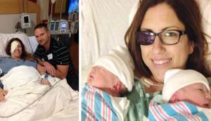 Read more about the article Μητέρα – ηρωίδα αφαίρεσε το μάτι της για να σώσει τα δίδυμα μωρά της