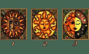 Διαλέξτε έναν ήλιο και λάβετε ένα μήνυμα σοφίας για το κοντινό μέλλον