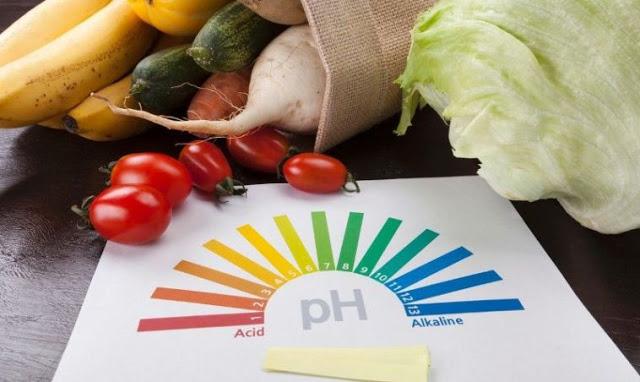Όξινες και αλκαλικές τροφές στη θαυματουργή δίαιτα