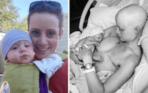 Read more about the article Η ζωή χαμογελά στην 31χρονη μητέρα που πάλεψε με τον καρκίνο